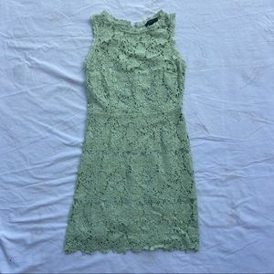 🎀Forever 21 Green Lace Bodycon Dress🎀